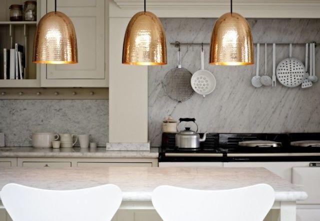 Original BTC Stanley Copper Pendant Light, £287, Design 55