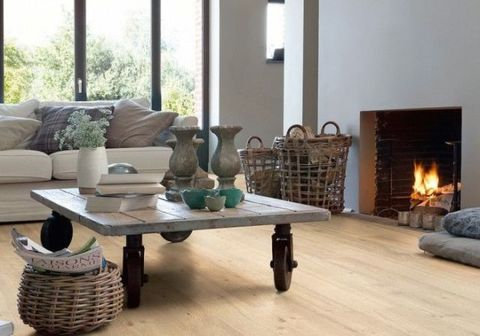 Wood, Room, Hearth, Interior design, Table, Home, Floor, Living room, Couch, Heat,