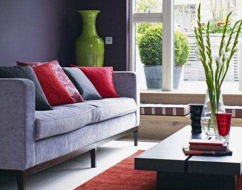 Green, Interior design, Room, Furniture, Living room, Interior design, Couch, Home, Artifact, Vase,
