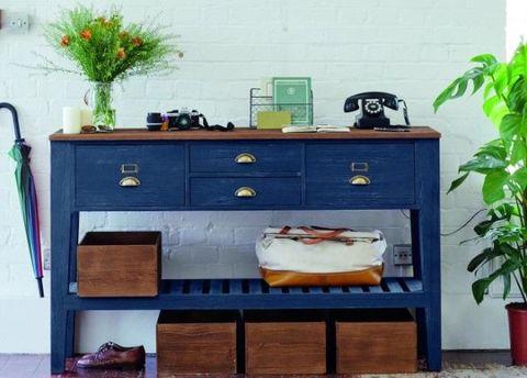 Room, Green, Drawer, Furniture, Flowerpot, Teal, Cabinetry, Turquoise, Grey, Houseplant,