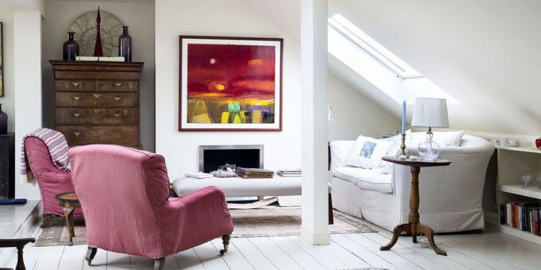 High Above The City Streets This Edinburgh Flat Is A Haven Of Colourful Artwork And Eclectic