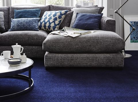 Blue Carpet House Beautiful Range At Carpetright
