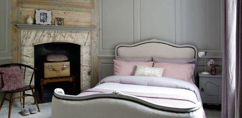vintage bedroom makeover