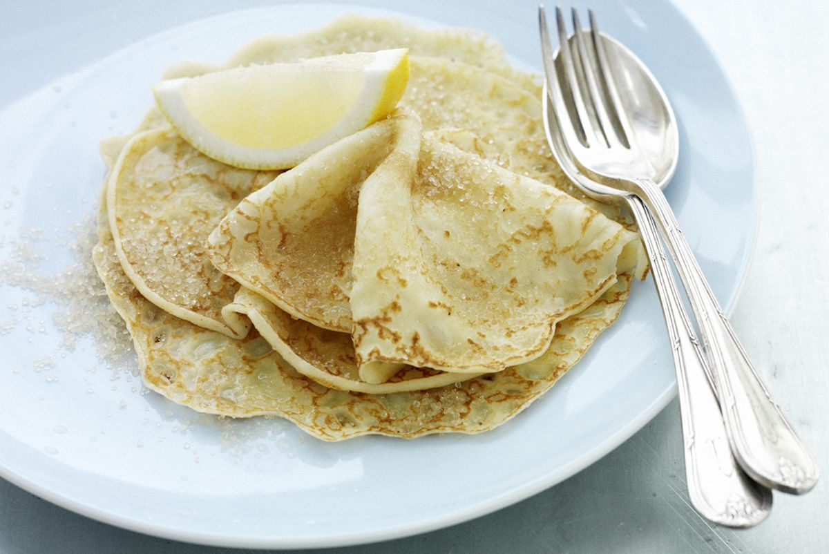 How to cook pancakes on mineral water 54