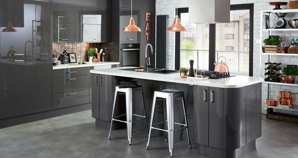 Superieur Grey Kitchen Colour Scheme