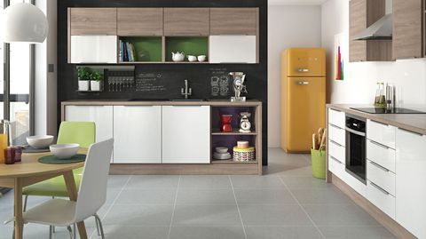 Kitchen Colour Schemes - Grey kitchen colour schemes
