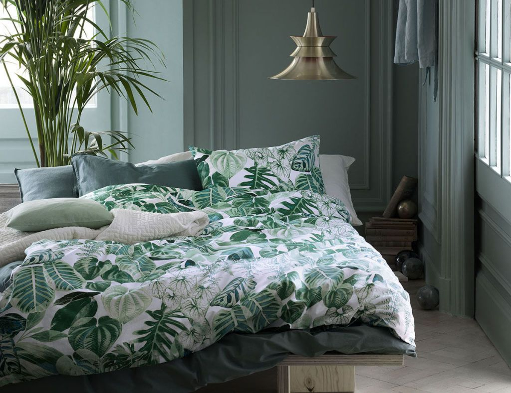 Green Bedroom Colour Scheme