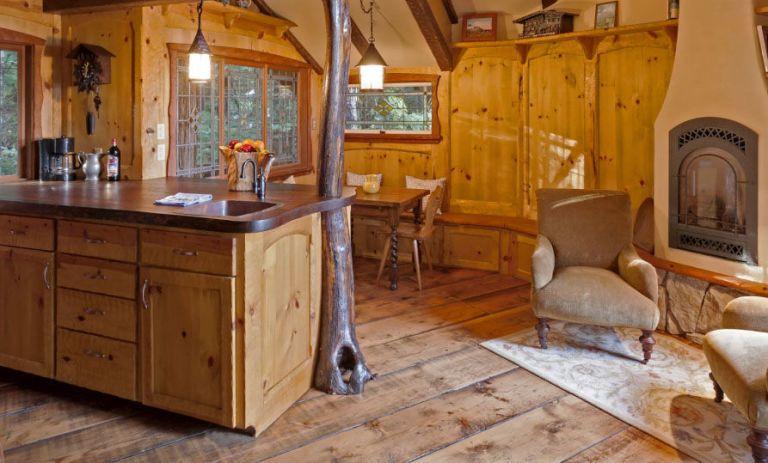Fairytale Treehouse Living Area