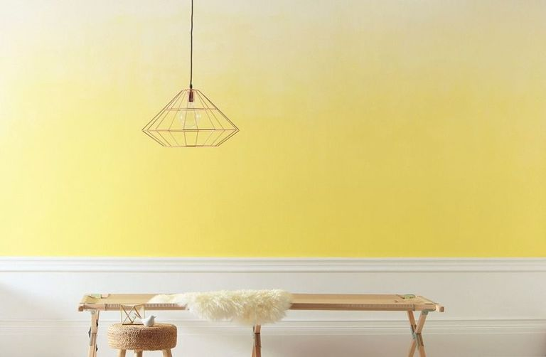 How to paint a fabulous ombré wall