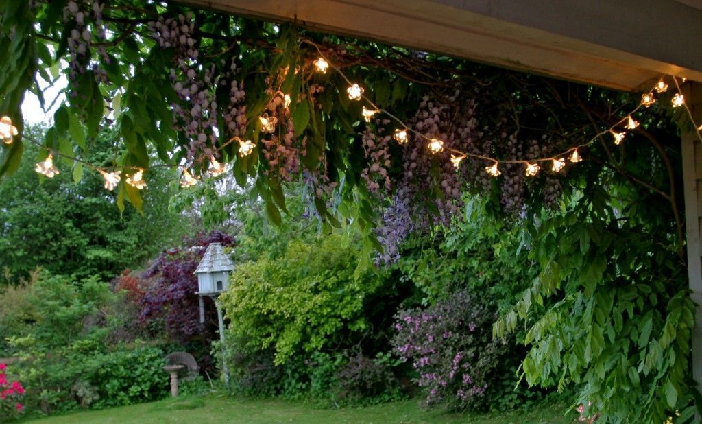 Garden Ideas On A Budget Outdoor Fairy Lights