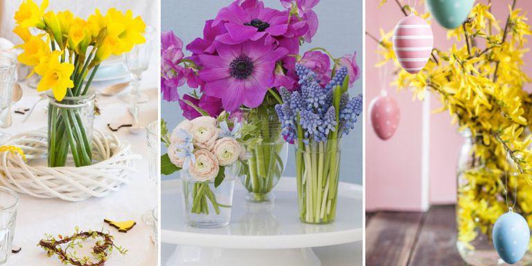7 stunning spring flower arrangements spring flower mixed display mightylinksfo