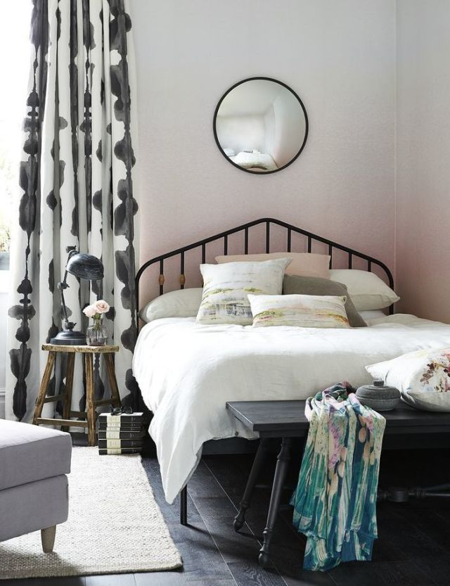 beautiful-bedrooms-pink-ombre & 30 beautiful bedrooms with great ideas to steal