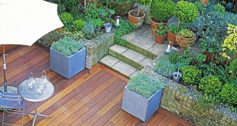 9 ways to transform your small back garden on a budget garden decking overhead solutioingenieria Image collections