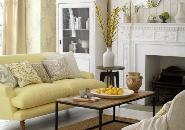 spring-decorating-living-room & How the colour of your room affects your mood