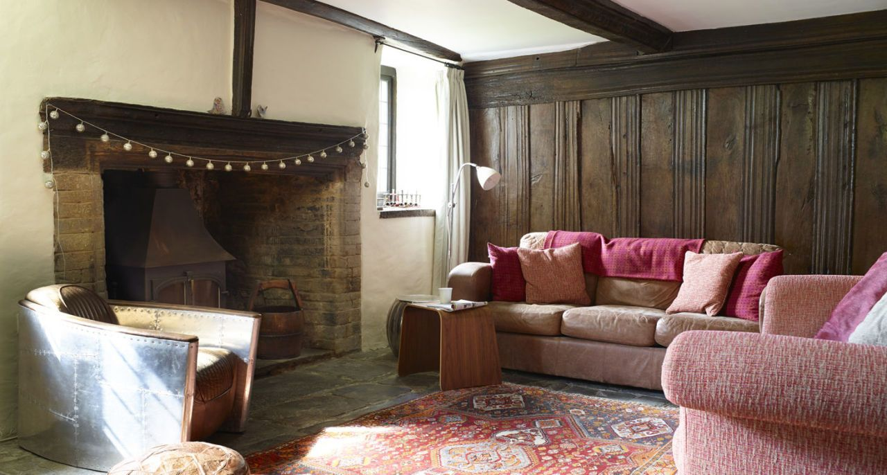 Tudor House Living Room