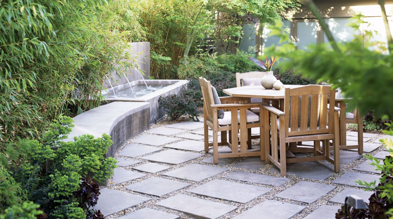 Patio Paving And Gravel
