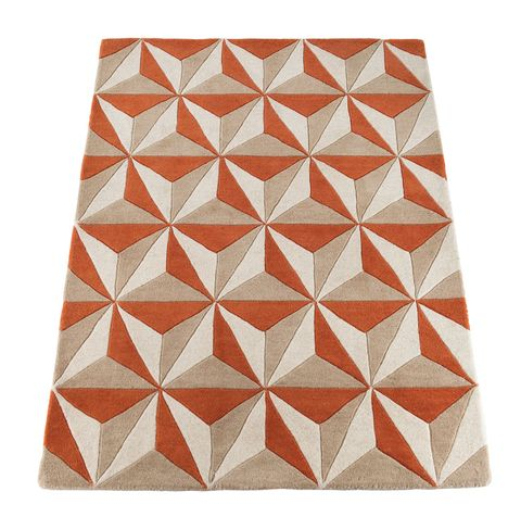 If You Want To Add Some Punch And Colour A Scheme Of Warm Neutrals This Burnt Orange Design Will Create Stunning Focal Point