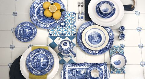 Blue Italian Collection