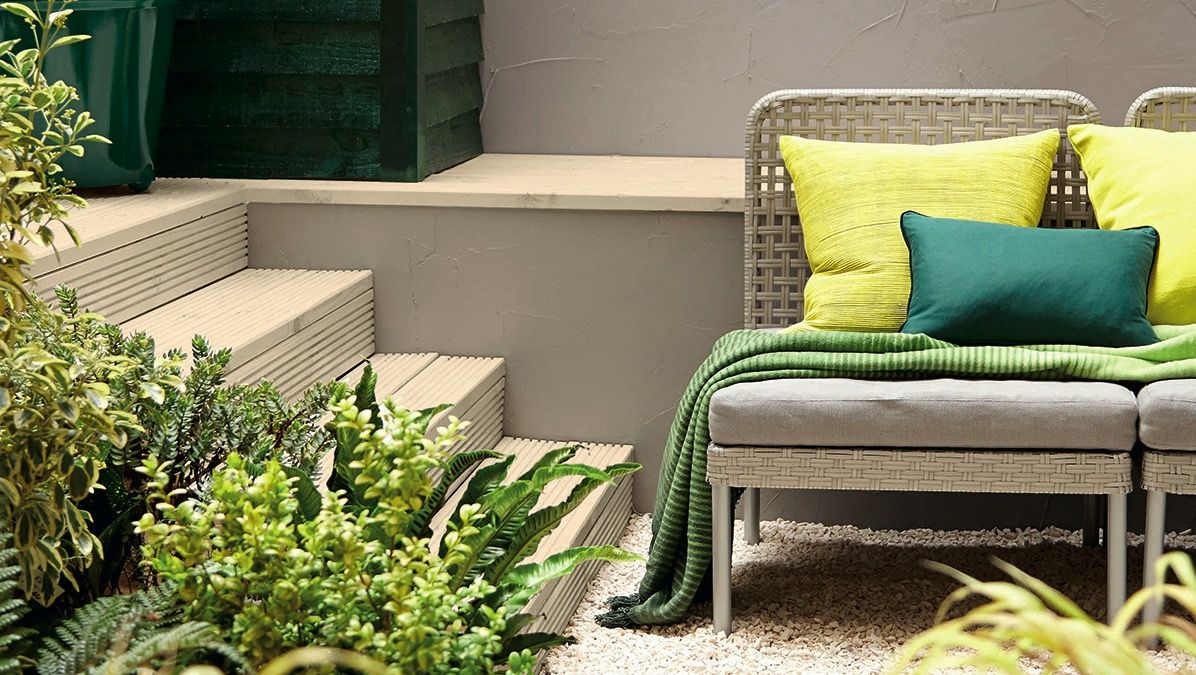 Colour Confident Outdoor Space And Gardens