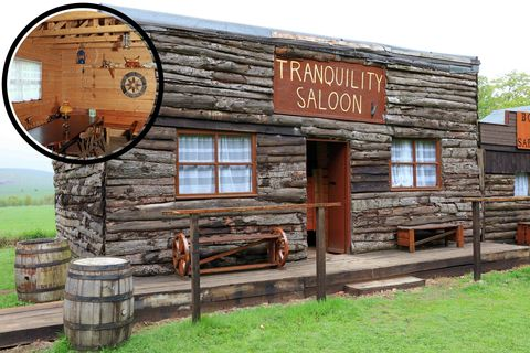 Cuprinol Shed of the Year shortlist Tranquility Saloon
