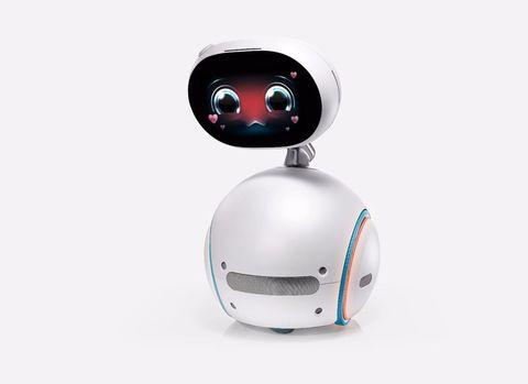Zenbo the robot is described as a hands-free household helper.