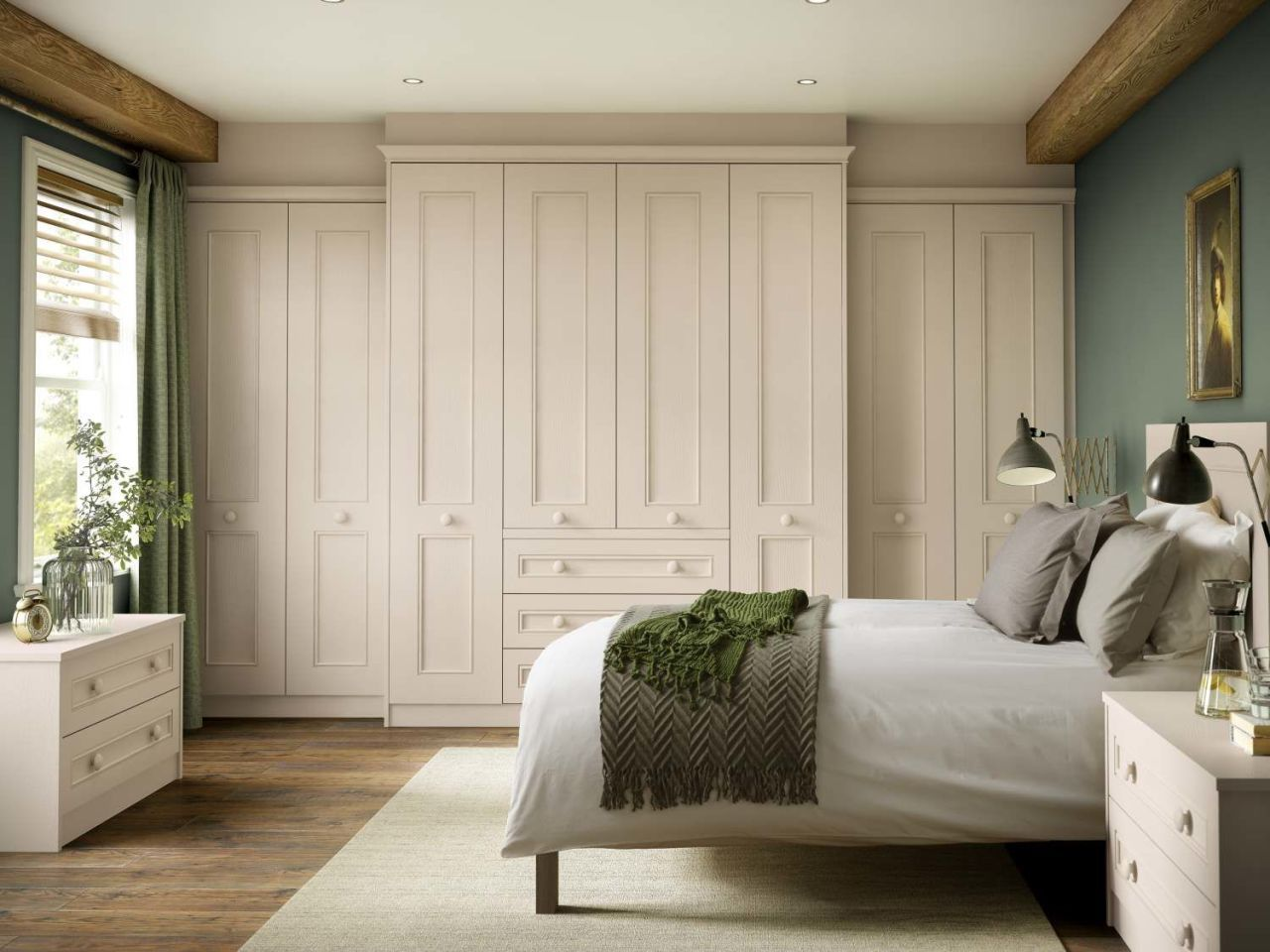 9 nifty ways to create more storage space in a small bedroom