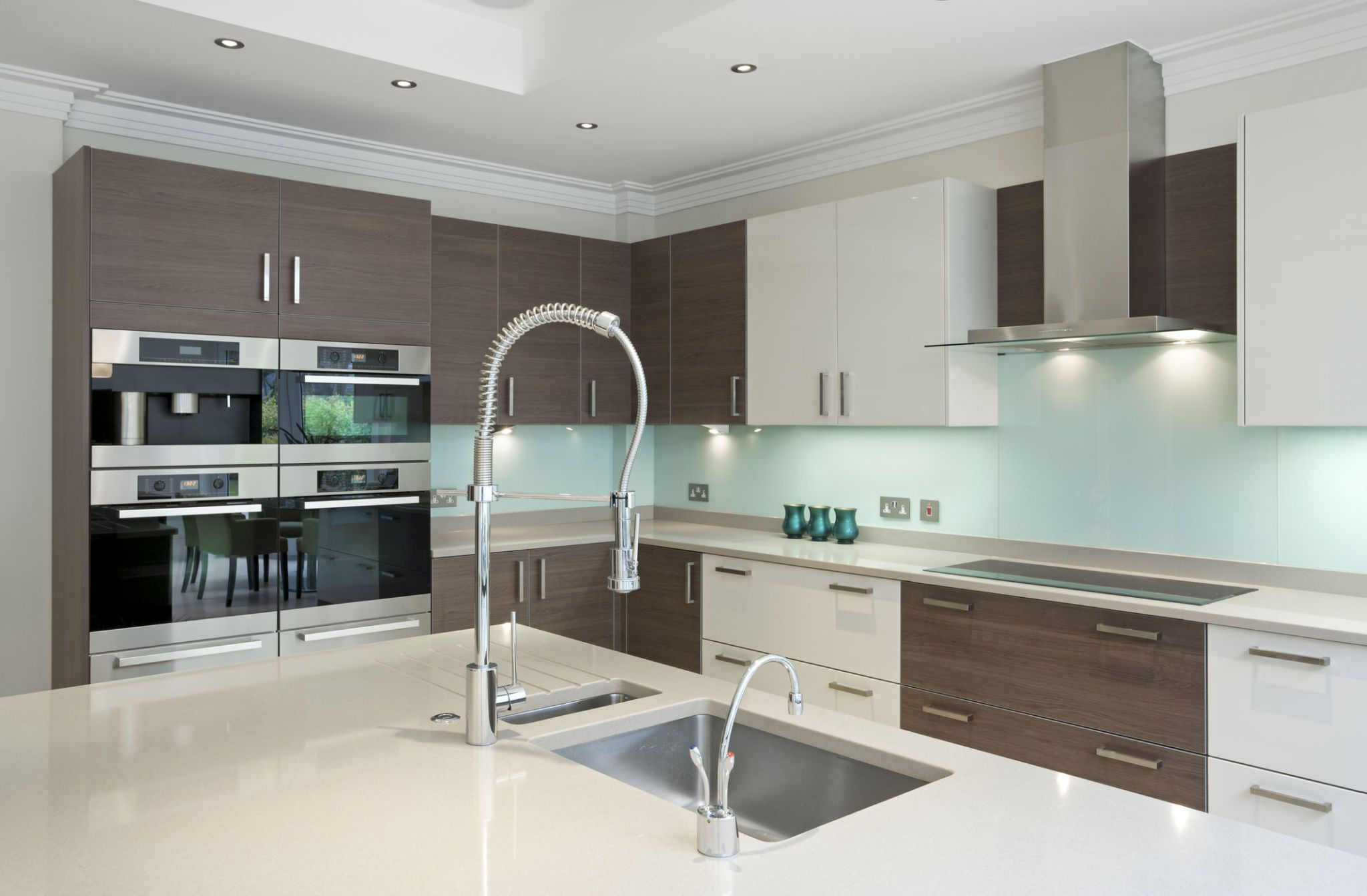 Modern Kitchen Interior With Two Tone Design