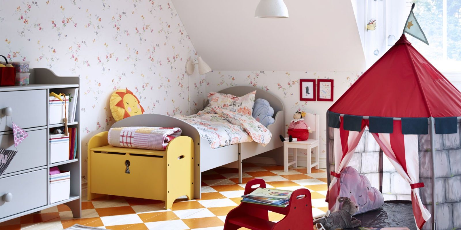 Ordinaire Ikea Red Bedroom Play Tent