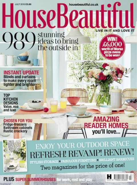 House Beautiful July Cover