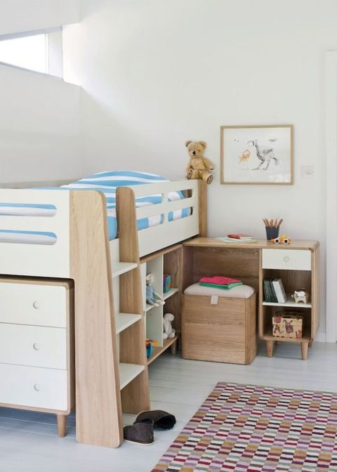 Children\'s rooms: how to plan a well-designed bedroom