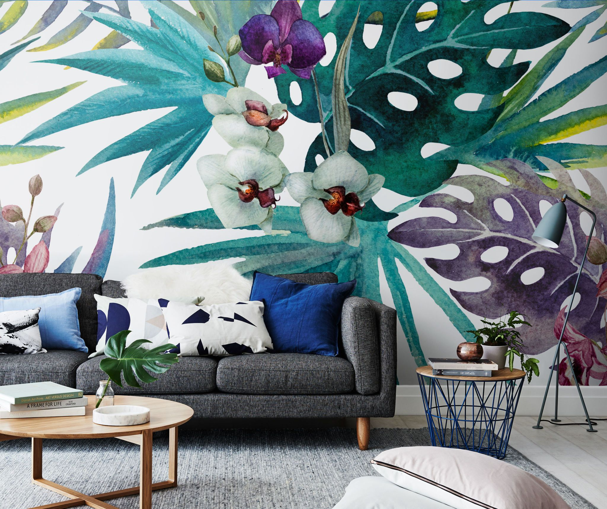 13 incredible wallpapers and wall muralsbotanical wall mural from pixers