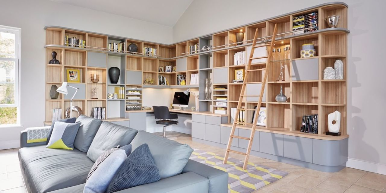 6 space saving solutions and storage ideas for your living room rh housebeautiful com home study storage ideas study table storage ideas