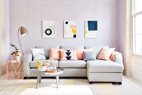 How to style a corner sofa