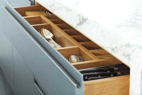 The Marble Kitchen, storage, Papilio