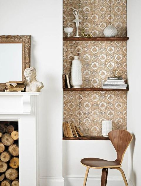 Topps Tiles decorative wall and storage shelves