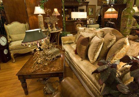 Furniture showroom antiques fair
