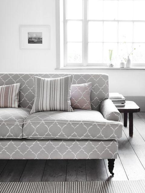 Grey Neptune sofa in living room