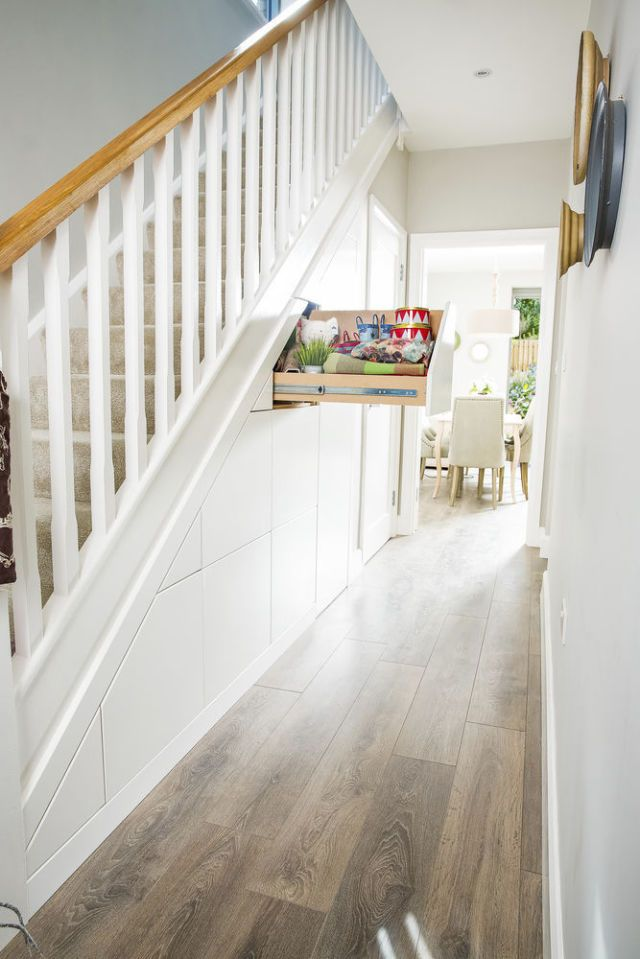 Understair storage for the hallway from Smart Storage & 7 space-saving solutions and storage ideas for your hallway