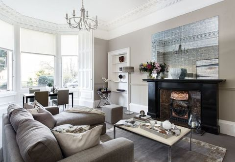 Elegant Light Filled Victorian Apartment In Edinburgh Is