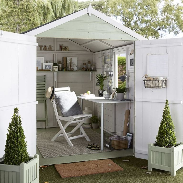 Conservatories garden rooms and sheds space saving for Garden rooms b q