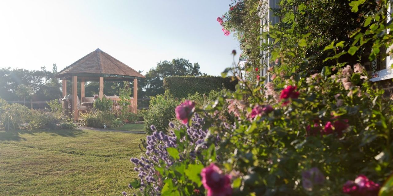 Crown Pavilions Luxury Gazebo In A Stunning Garden