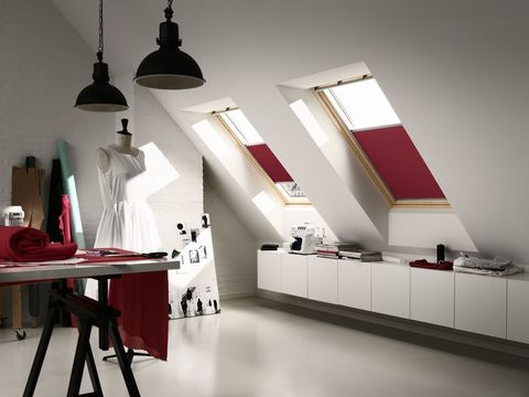Velux blinds in attic