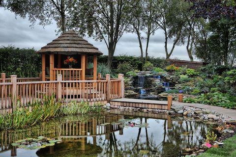 Luxury gazebo from Crown Pavilions