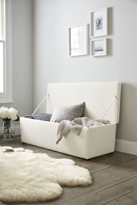 Langley ottoman from The White Company