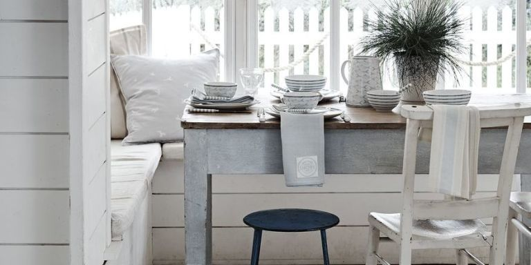 Storage ideas for laid back dining rooms