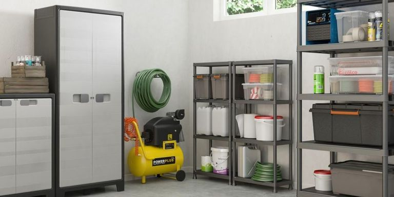 Garages: space-saving storage solutions to keep it tidy