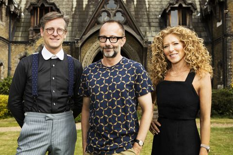 Series Four Of Bbc Two Show The Great Interior Design Challenge With Judges Daniel Hopwood And