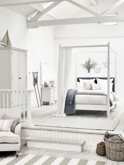 Neptune four poster bed, new coastal bedroom summer theme