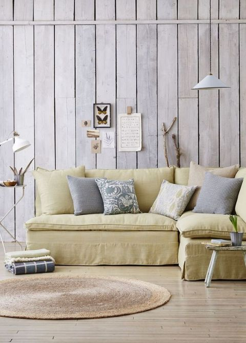 Nature: Create a summer look in your living room