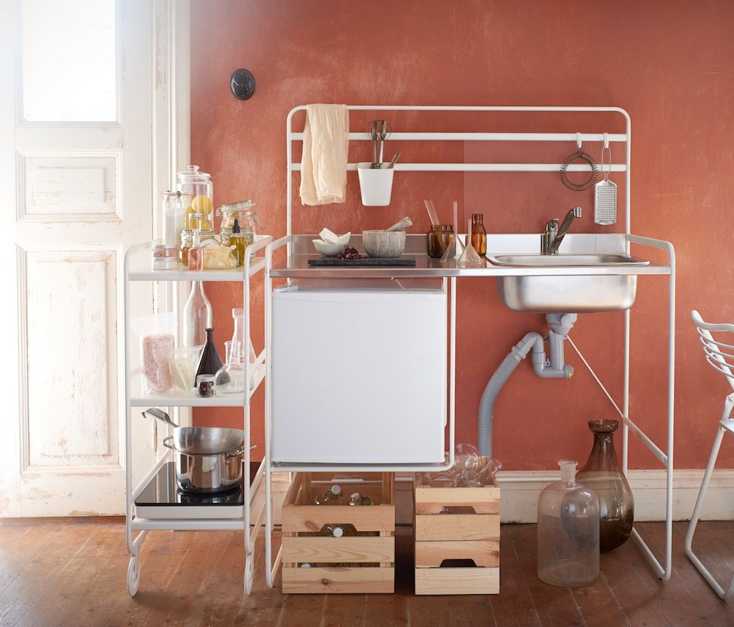 Ikea Sells First Portable Kitchen For Small Space Living For 99